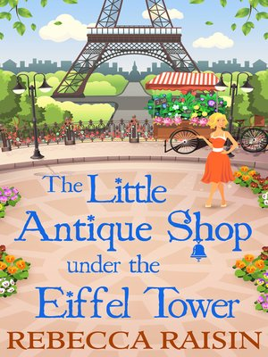 cover image of The Little Antique Shop Under the Eiffel Tower