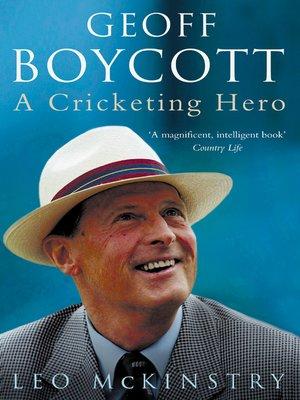 cover image of Geoff Boycott