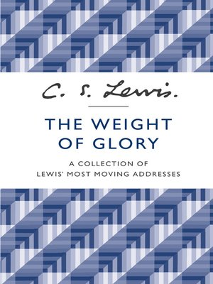 cover image of The Weight of Glory