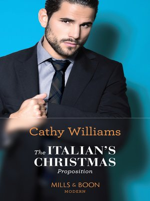 cover image of The Italian's Christmas Proposition