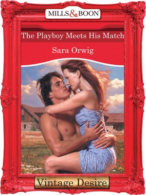 cover image of The Playboy Meets His Match