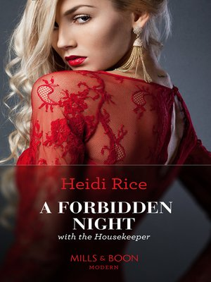cover image of A Forbidden Night With the Housekeeper