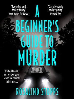 cover image of A Beginner's Guide to Murder