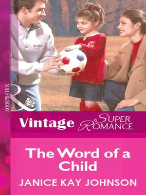 cover image of The Word of a Child
