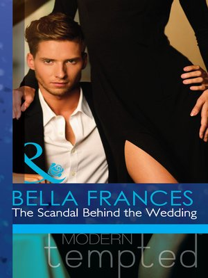 cover image of The Scandal Behind the Wedding