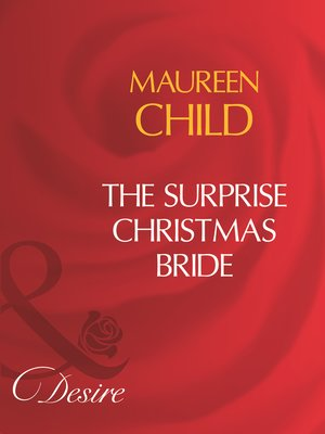 cover image of The Surprise Christmas Bride