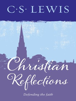 cover image of Christian Reflections