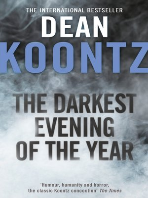 cover image of The Darkest Evening of the Year