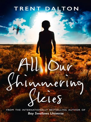 cover image of All Our Shimmering Skies