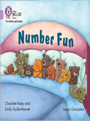cover image of Collins Big Cat Phonics for Letters and Sounds – Number Fun