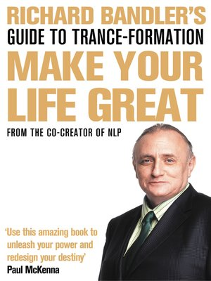 cover image of Richard Bandler's Guide to Trance-formation