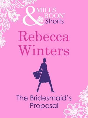 cover image of The Bridesmaid's Proposal