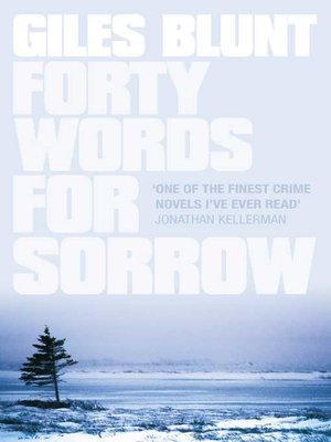 cover image of Forty Words for Sorrow