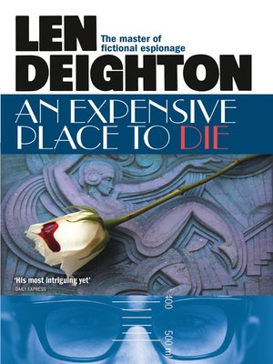 cover image of An Expensive Place to Die