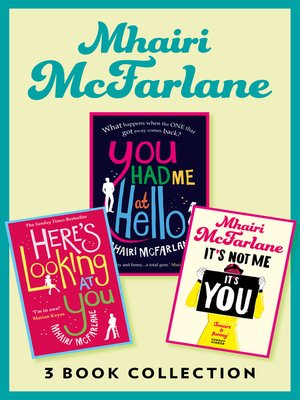 cover image of Mhairi McFarlane 3-Book Collection