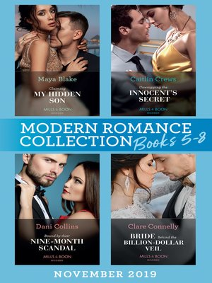 cover image of Modern Romance November 2019 Books 5-8