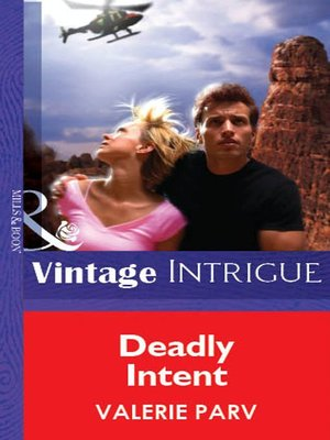 cover image of Deadly Intent
