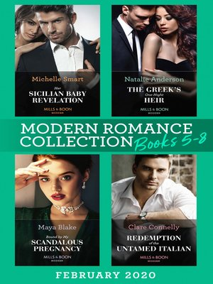 cover image of Modern Romance February 2020 Books 5-8