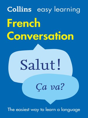 cover image of Easy Learning French Conversation