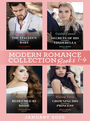 cover image of Modern Romance January 2020 Books 1-4