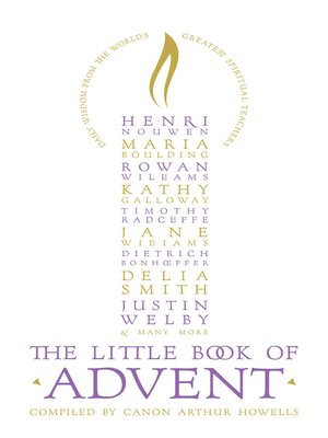 cover image of The Little Book of Advent
