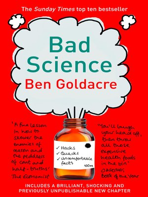 cover image of Bad Science