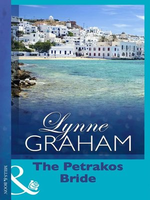 cover image of The Petrakos Bride