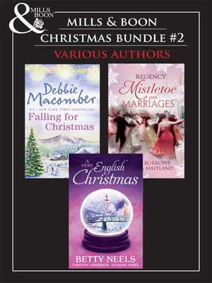 cover image of Mills & Boon Christmas Trio Bundle #2