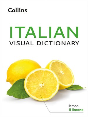 cover image of Collins Italian Visual Dictionary