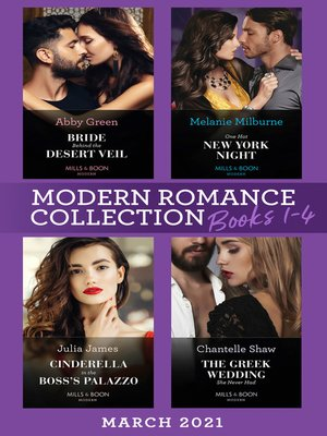 cover image of Modern Romance March 2021 Books 1-4
