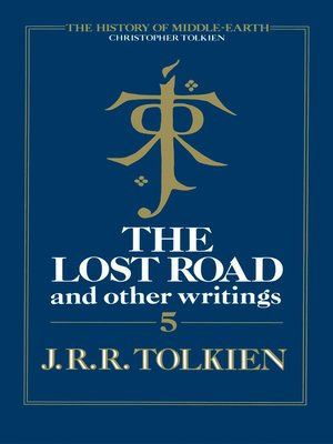 cover image of The Lost Road and Other Writings