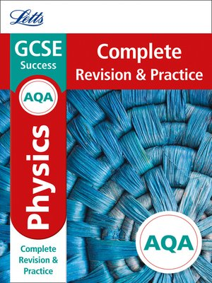cover image of AQA GCSE 9-1 Physics Complete Revision & Practice