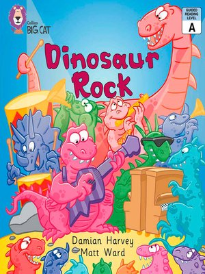 cover image of Collins Big Cat – Dinosaur Rock