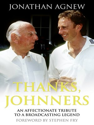 cover image of Thanks, Johnners