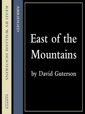 cover image of East of the Mountains