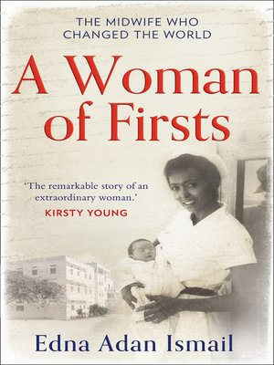 cover image of A Woman of Firsts