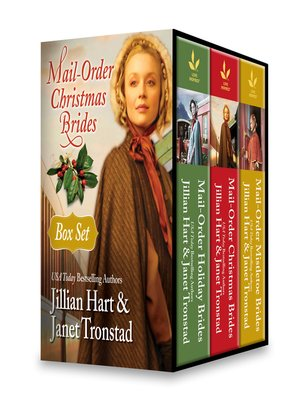 cover image of Mail-Order Christmas Brides Boxed Set