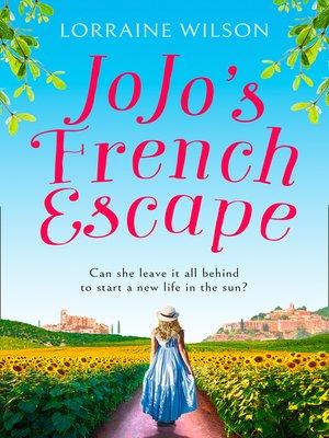 cover image of Jojo's French Escape