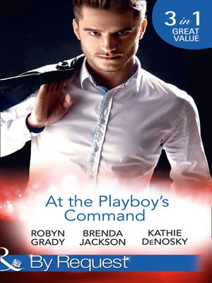 cover image of At the Playboy's Command