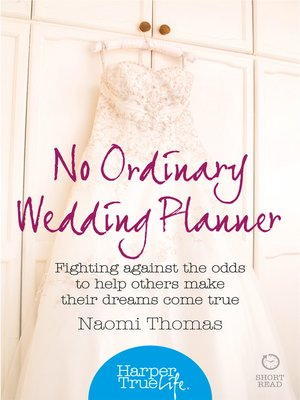 cover image of No Ordinary Wedding Planner