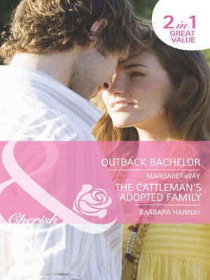 cover image of Outback Bachelor / The Cattleman's Adopted Family