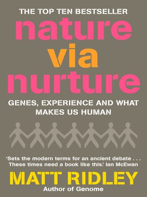 cover image of Nature via Nurture