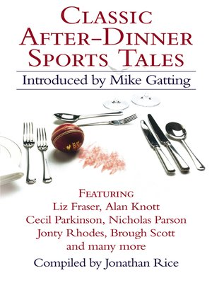 cover image of Classic After-Dinner Sports Tales