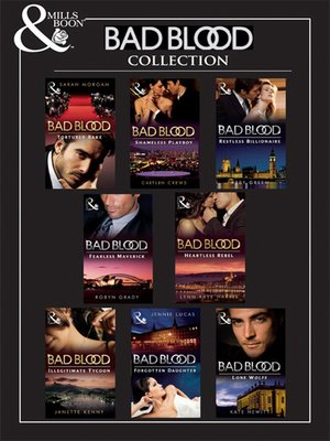cover image of Bad Blood Collection