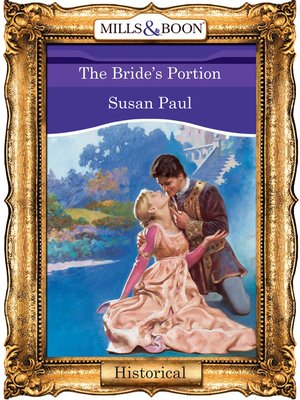 cover image of The Bride's Portion