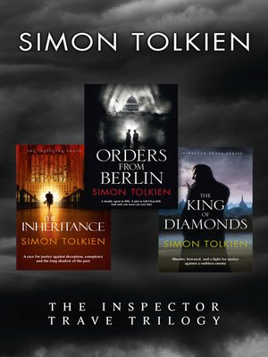 cover image of Simon Tolkien Inspector Trave Trilogy