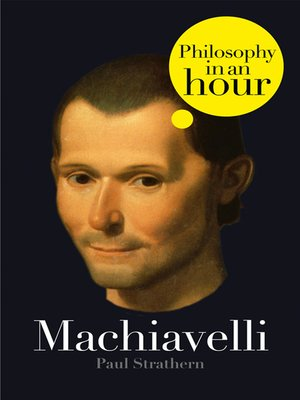 cover image of Machiavelli