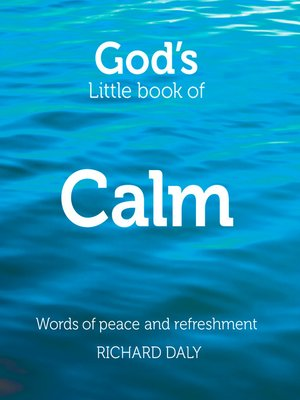 cover image of God's Little Book of Calm