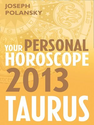 cover image of Taurus 2013