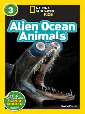 cover image of Alien Ocean Animals